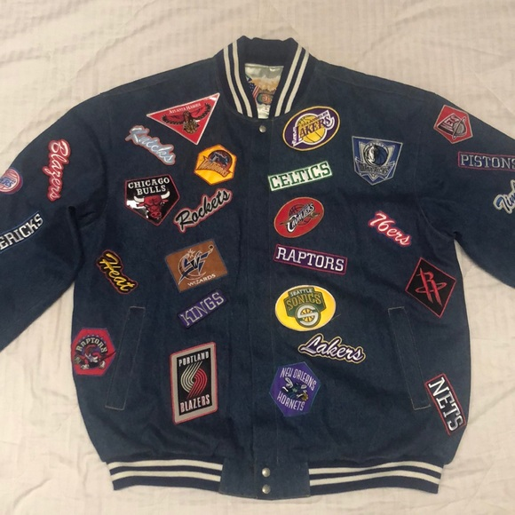 NBA Patches Jacket